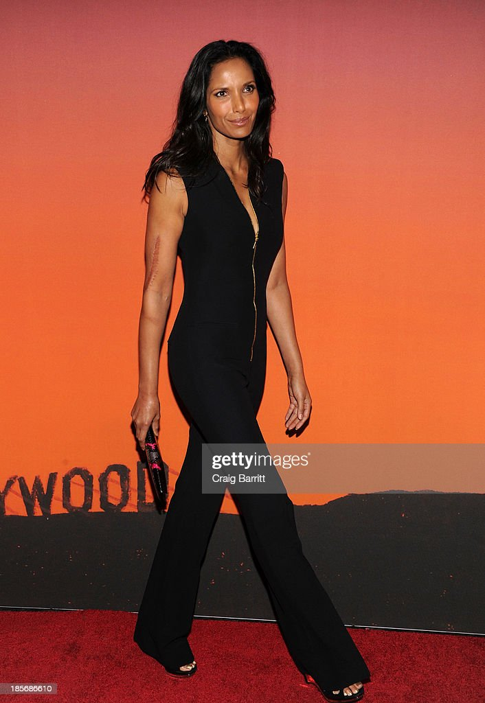 <a gi-track='captionPersonalityLinkClicked' href=/galleries/search?phrase=Padma+Lakshmi&family=editorial&specificpeople=201593 ng-click='$event.stopPropagation()'>Padma Lakshmi</a> arrives at the 2013 Whitney Gala And Studio Party at Skylight at Moynihan Station on October 23, 2013 in New York City.