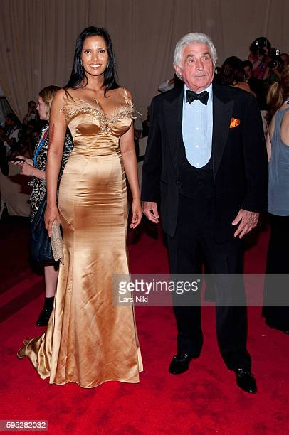 Padma Lakshmi attends 'American Woman Fashioning A National Identity' Costume Institute Gala at The Metropolitan Museum of Art in New York City
