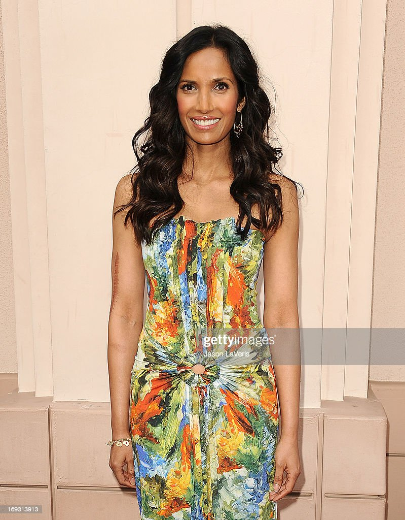 Padma Lakshmi attends Bravo Media's 2013 For Your Consideration Emmy event at Leonard H. Goldenson Theatre on May 22, 2013 in North Hollywood, California.