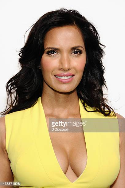 Padma Lakshmi attends the 2015 NBCUniversal Cable Entertainment Upfront at The Jacob K Javits Convention Center on May 14 2015 in New York City