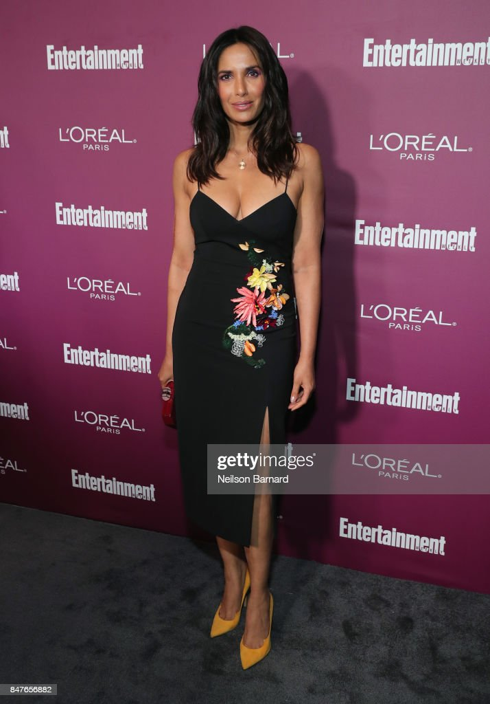 Padma Lakshmi attends the 2017 Entertainment Weekly Pre-Emmy Party at Sunset Tower on September 15, 2017 in West Hollywood, California.