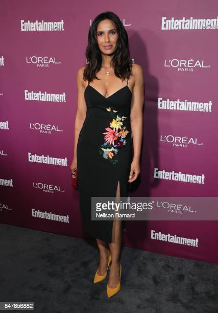 Padma Lakshmi attends the 2017 Entertainment Weekly PreEmmy Party at Sunset Tower on September 15 2017 in West Hollywood California