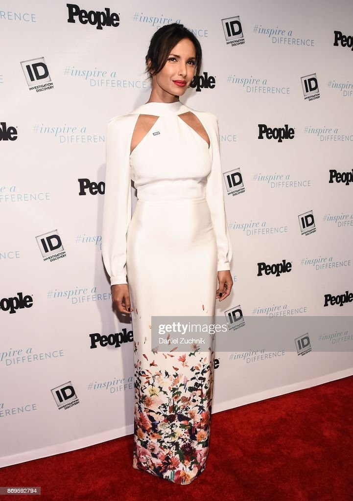 Padma Lakshmi attends the 2017 Inspire A Difference Honors Event at Dream Hotel on November 2, 2017 in New York City.
