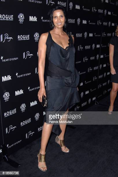 Padma Lakshmi attends THE ART OF ELYSIUM SECOND ANNUAL GENESIS EVENT SPONSORED BY ROGUE PICTURES PAIGE DENIM COFFEE BEAN TEA LEAF AND MILK STUDIOS at...