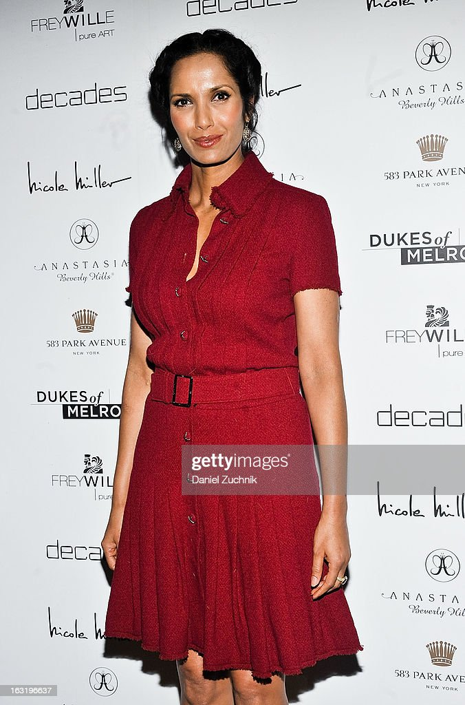 Padma Lakshmi attends the 'Dukes Of Melrose' Premiere at 583 Park Avenue on March 5, 2013 in New York City.