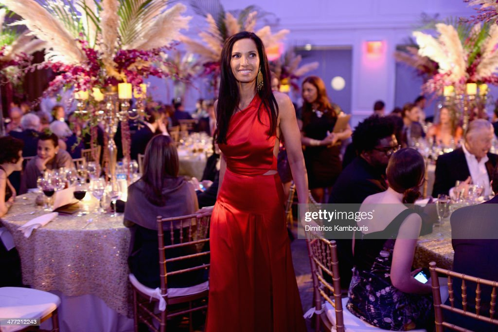 <a gi-track='captionPersonalityLinkClicked' href=/galleries/search?phrase=Padma+Lakshmi&family=editorial&specificpeople=201593 ng-click='$event.stopPropagation()'>Padma Lakshmi</a> attends the Endometriosis Foundation of America's 6th annual Blossom Ball hosted by <a gi-track='captionPersonalityLinkClicked' href=/galleries/search?phrase=Padma+Lakshmi&family=editorial&specificpeople=201593 ng-click='$event.stopPropagation()'>Padma Lakshmi</a> and Tamer Seckin, MD at 583 Park Avenue on March 7, 2014 in New York City.