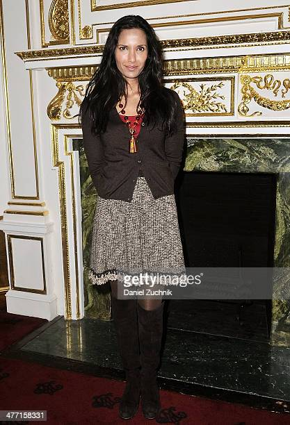 Padma Lakshmi attends The Fifth Annual Endometriosis Foundation Of America Medical Congress at The Metropolitan Club on March 7 2014 in New York City
