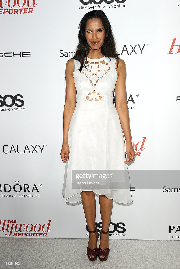 <a gi-track='captionPersonalityLinkClicked' href=/galleries/search?phrase=Padma+Lakshmi&family=editorial&specificpeople=201593 ng-click='$event.stopPropagation()'>Padma Lakshmi</a> attends the Hollywood Reporter's celebration of the Emmys at Soho House on September 19, 2013 in West Hollywood, California.
