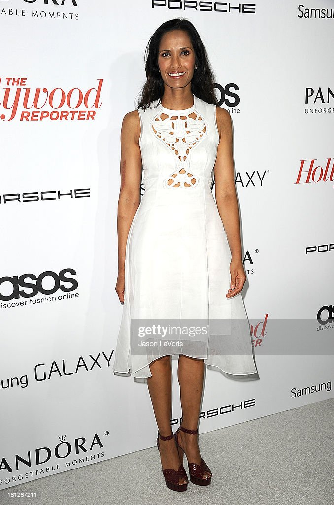 Padma Lakshmi attends the Hollywood Reporter's celebration of the Emmys at Soho House on September 19, 2013 in West Hollywood, California.