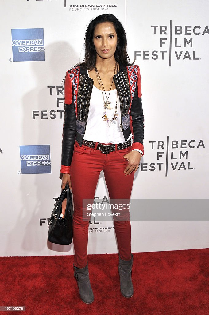 Padma Lakshmi attends the 'Sunlight Jr.' World Premiere during the 2013 Tribeca Film Festival on April 20, 2013 in New York City.