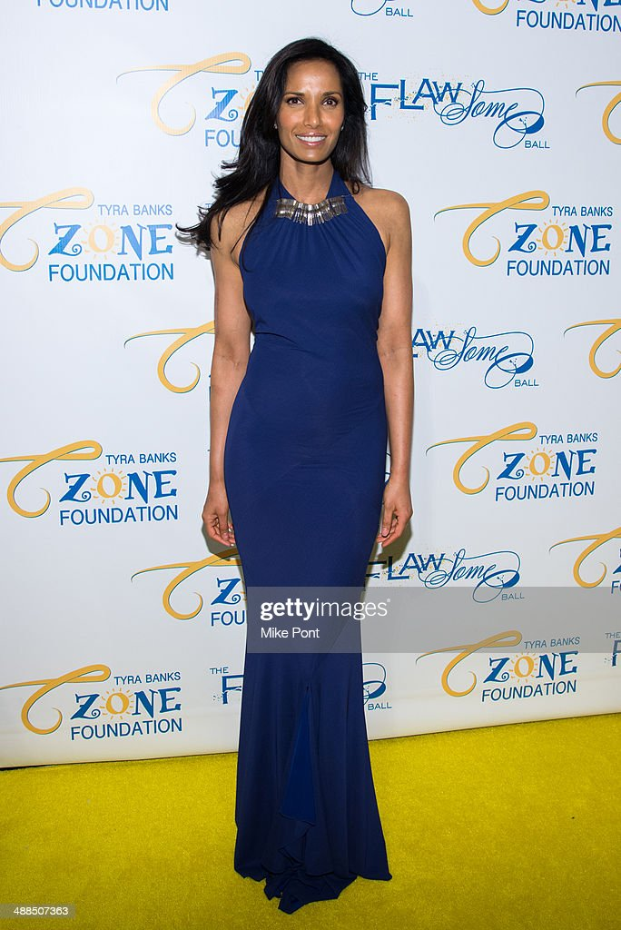 Padma Lakshmi attends Tyra Banks' Flawsome Ball 2014 at Cipriani Wall Street on May 6, 2014 in New York City.