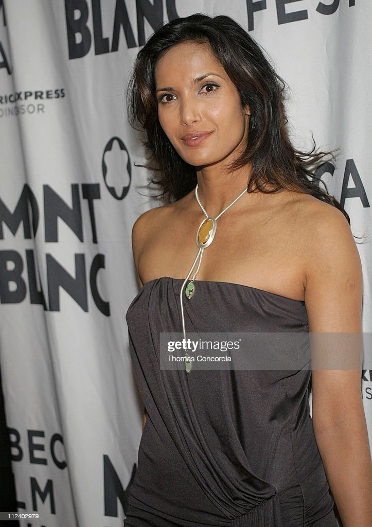 Padma Lakshmi during 6th Annual Tribeca Film Festival - Montblanc de la Culture Awards - Arrivals at Angel Orensanz Foundation in New York City, New York, United States.