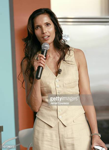 Padma Lakshmi host of Bravo's 'Top Chef' during Bravo Partners and NY Company KickOff 'Top Chef' Season 3 and New York Restaurant Week June 12 2007...