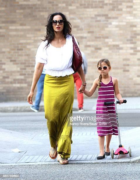 Padma Lakshmi is seen on August 29 2015 in New York City
