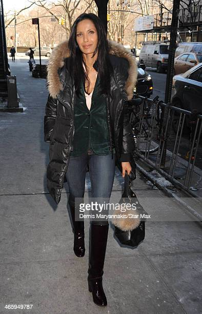 Padma Lakshmi is seen on January 30 2014 in New York City
