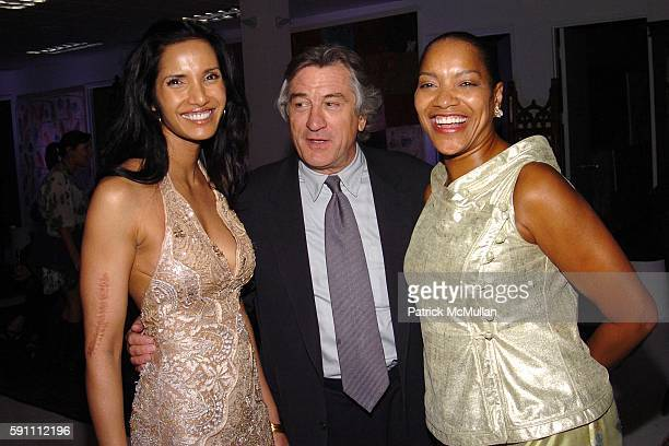 Padma Lakshmi Rushdie Robert De Niro and Grace Hightower attend Carlos Miele Padma Lakshmi host a Secret Afterparty honoring The Tribeca Film...