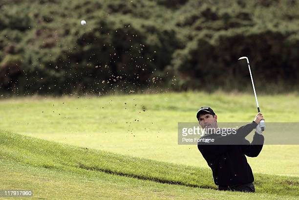 Padraig Harrington during the second round of the 2006 Alfred Dunhill Links Championship held on the St Andrews Old Course on October 6 2006