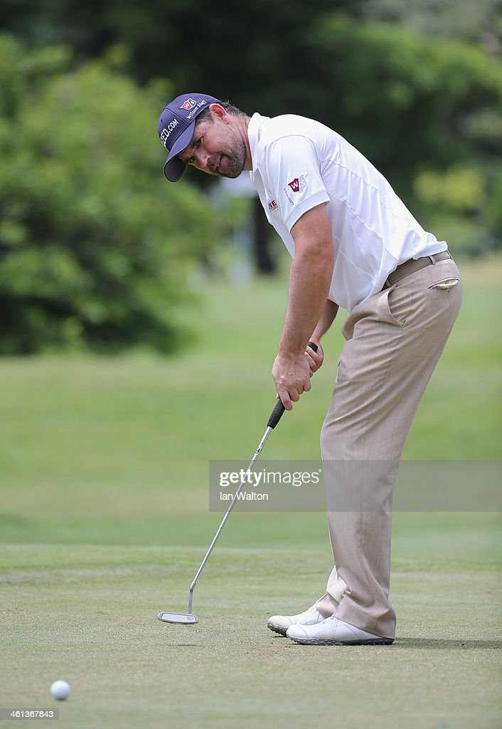<a gi-track='captionPersonalityLinkClicked' href=/galleries/search?phrase=Padraig+Harrington&family=editorial&specificpeople=175865 ng-click='$event.stopPropagation()'>Padraig Harrington</a> of Ireland during the Pro-Am of the 2014 Volvo Golf Champions at Durban Country Club on January 8, 2014 in Durban, South Africa.