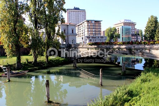 1c97a8f12f Padova Bridge In Corso Del Popolo Stock Photo | Thinkstock