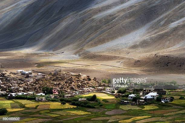 Padum Monastery in Zanskar Vally
