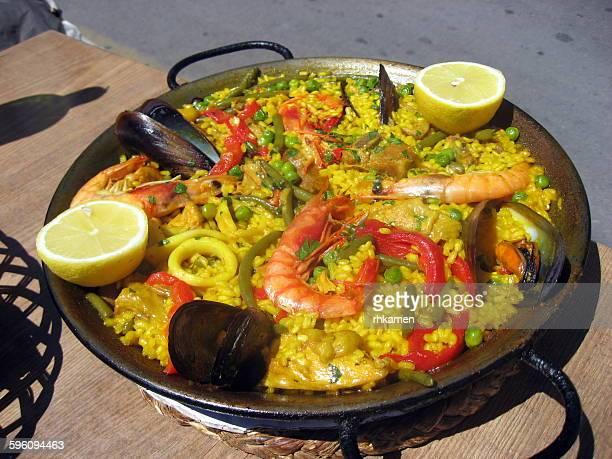 Paella, Port de Soller, Mallorca, Spain