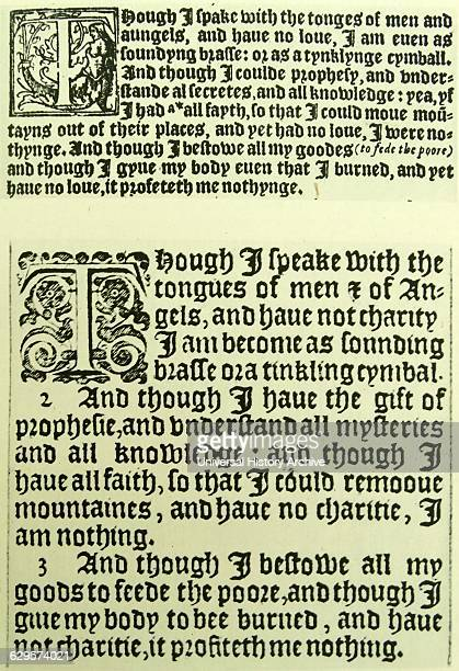 an analysis of william tyndales translation History: william tyndale's final words  a complete analysis of the king james  the enormous debt owed by the english-speaking world to william tyndale is.