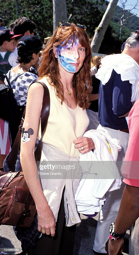 Page Hannah during Pediatric Aids Event A Time For Heroes at Private House in Bel Air, California, United States.
