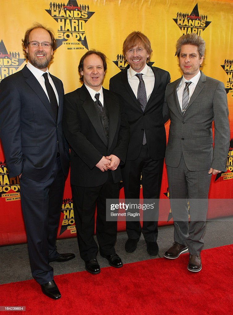 """Hands On A Hard Body"" Broadway Opening Night - Arrivals And Curtain Call"
