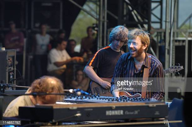 Page McConnell Mike Gordon and Trey Anastasio of Phish