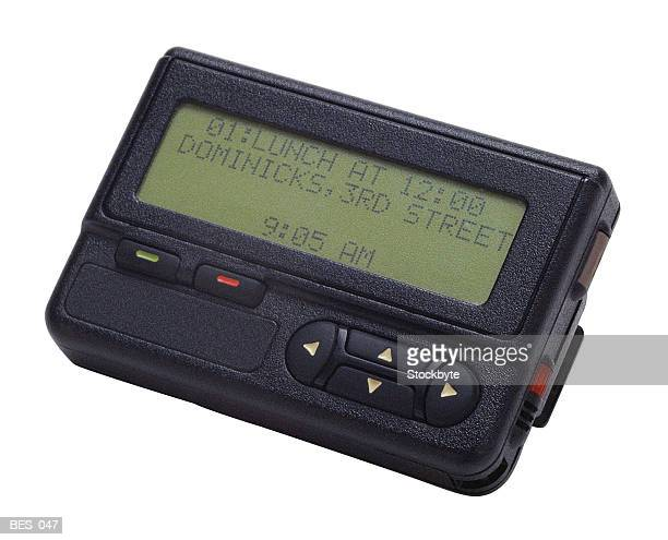 Pager with digital display