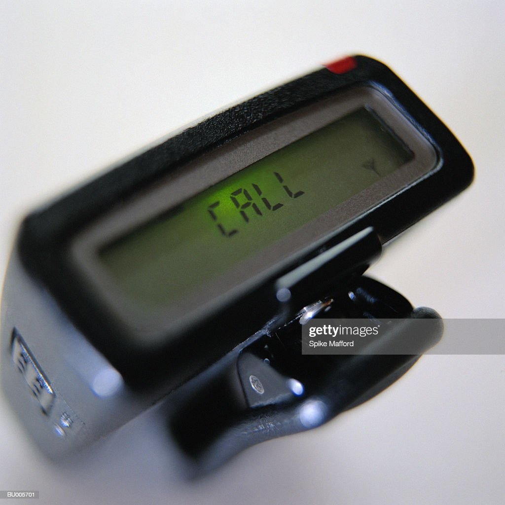 Pager with Message