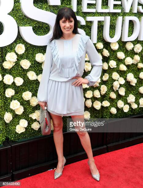 Paget Brewster arrives at the 2017 Summer TCA Tour CBS Television Studios' Summer Soiree at CBS Studios Radford on August 1 2017 in Studio City...