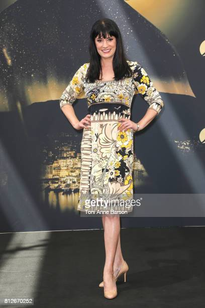 Paget Brewster attends 'Criminal Minds' photocall on June 19 2017 at the Grimaldi Forum in MonteCarlo Monaco