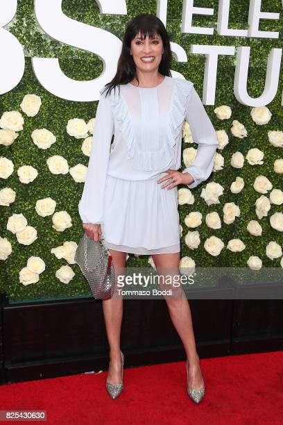 Paget Brewster attends the 2017 Summer TCA Tour CBS Television Studios' Summer Soiree at CBS Studios Radford on August 1 2017 in Studio City...