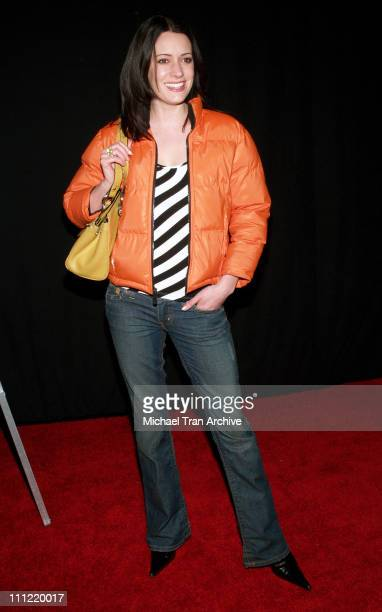 Paget Brewster during Craig Ferguson's 'Between the Bridge and the River' Book Launch Party at The Tropicana Bar in Hollywood at The Tropicana Bar at...