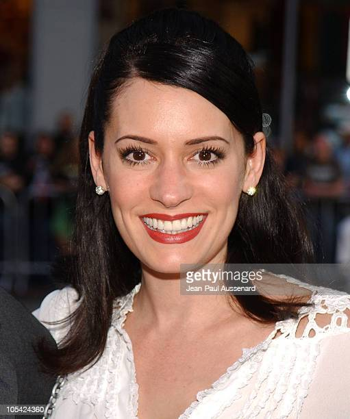 Paget Brewster during HBO's 'Six Feet Under' Season 5 Premiere at Chinese Theater in Hollywood California United States