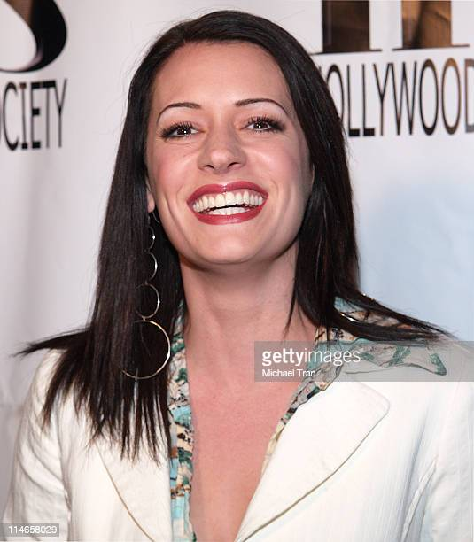 Paget Brewster during Junior Hollywood Radio Television Society Presents The 3rd Annual 'Young Hollywood' Holiday Party Arrivals at Privilege in Los...