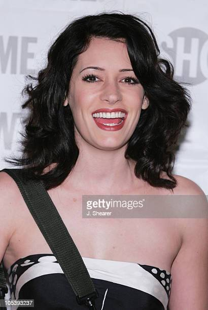 Paget Brewster of 'Huff' during Showtime TCA Press Tour Party Arrivals at Universal Studios Stage 6 in Universal City California United States