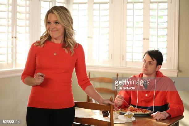 HOUSE 'Paging Dr Yes Please' Episode 304 Pictured Jessica St Clair as Emma Crawford Zach Woods as Zach Harper