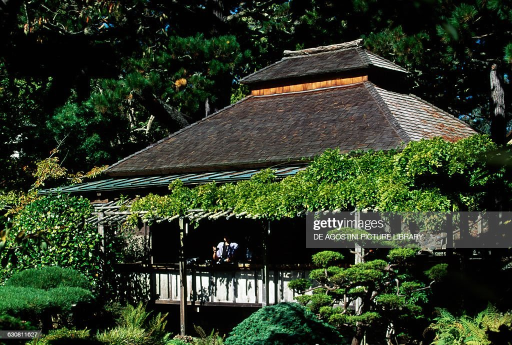 Pagoda In The Japanese Tea Garden Golden Gate Park San Francisco Pictures Getty Images