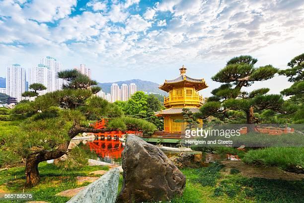 Pagoda, Nan Lian Garden, Diamond Hill, Hong Kong, China