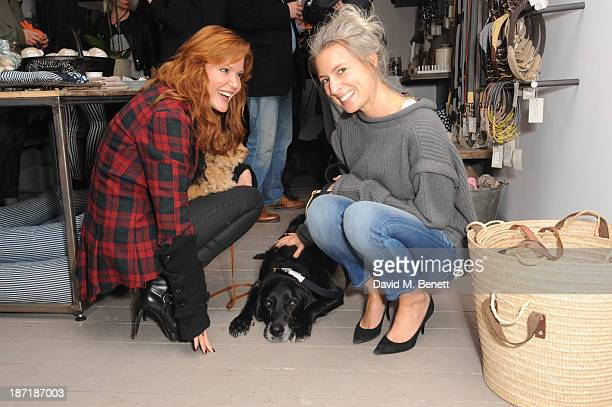 Paige AdamsGeller attends Luxury dog cat outfitters Mungo Maud invite fourlegged guests with VIP owners to launch their collaboration with US fashion...