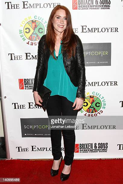 Paige Howard arrives to the 'The Employer' Los Angeles Premiere at Regent Showcase Theatre on March 6 2012 in West Hollywood California