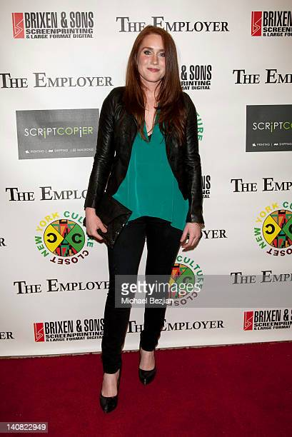 Paige Howard attends 'The Employer' Los Angeles Screening at Regent Showcase Theatre on March 6 2012 in West Hollywood California