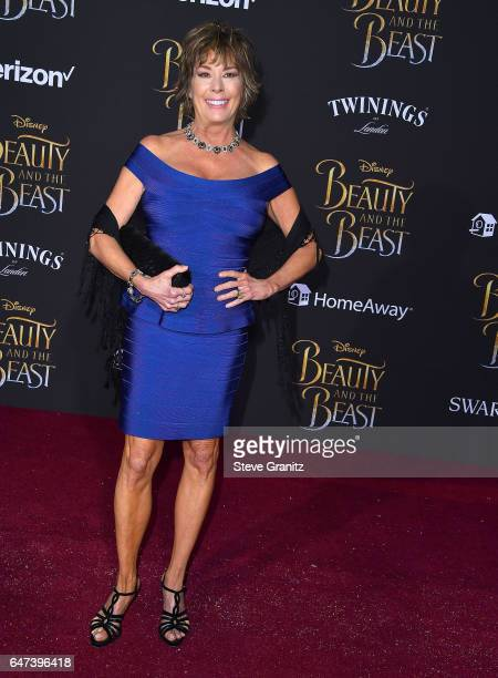 Paige O'Hara arrives a the Premiere Of Disney's 'Beauty And The Beast' at El Capitan Theatre on March 2 2017 in Los Angeles California