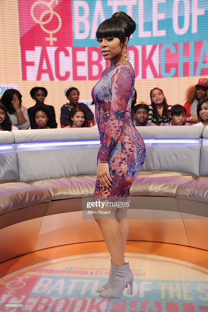 Paigion at BET's 106 & Park Studio on March 18, 2013 in New York City.