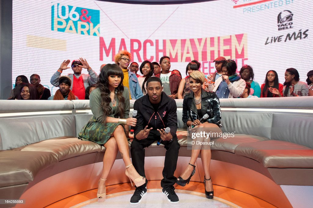 Paigion Shorty Da Prince and Miss Mykie host BET's '106 Park' at BET Studios on March 21 2013 in New York City