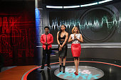 Paigion Shorty da Prince and Mykie attend 106 Park at BET studio on December 15 2014 in New York City