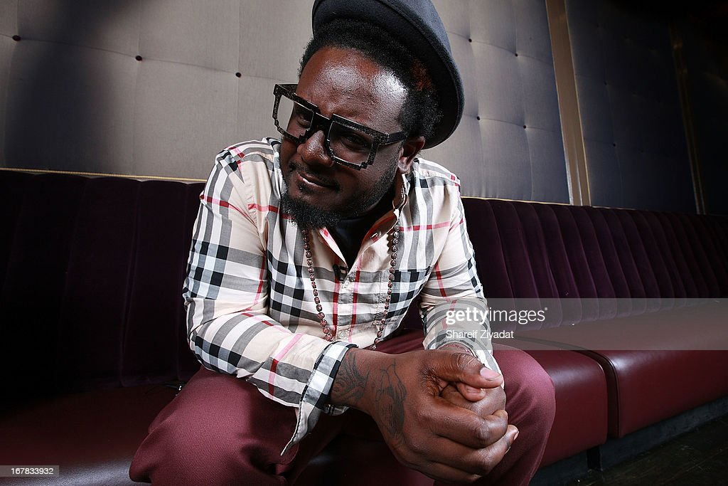 T Pain attends the Gig-It Launch Party at Capitale Bowery on April 30, 2013 in New York City.