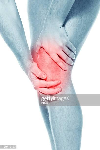 Pain in a knee. sports trauma